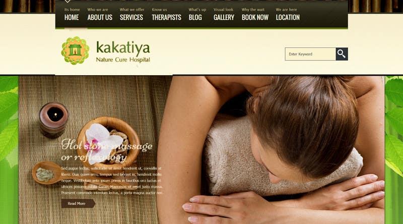 Kilpailutyö #17 kilpailussa Kakatiya nature cure hospital