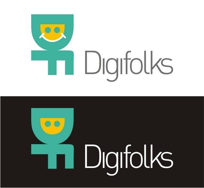Konkurrenceindlæg #                                        4                                      for                                         Create a logo for Digifolks, a new Digital Marketing Consulting Company