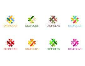 #9 for Create a logo for Digifolks, a new Digital Marketing Consulting Company by ChoDa93