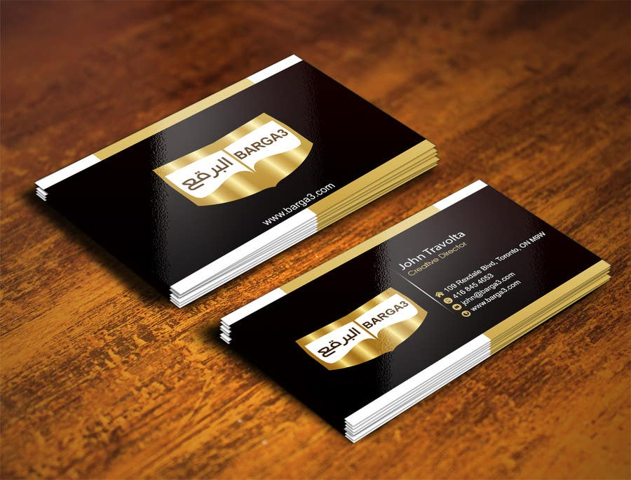 Contest Entry #                                        6                                      for                                         Design some Business Cards for abaya shop