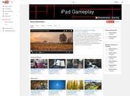 Design YouTube Channel Art için Graphic Design3 No.lu Yarışma Girdisi
