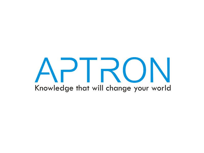 """Contest Entry #                                        12                                      for                                         Design a Logo for """"APTRON"""""""