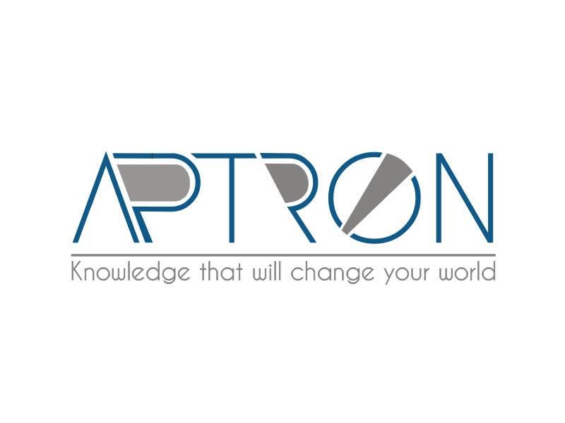 """Contest Entry #                                        24                                      for                                         Design a Logo for """"APTRON"""""""