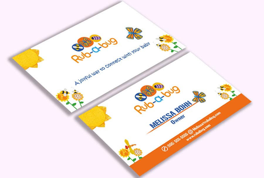Contest Entry #                                        42                                      for                                         Design some Business Cards for Rub-a-Bug