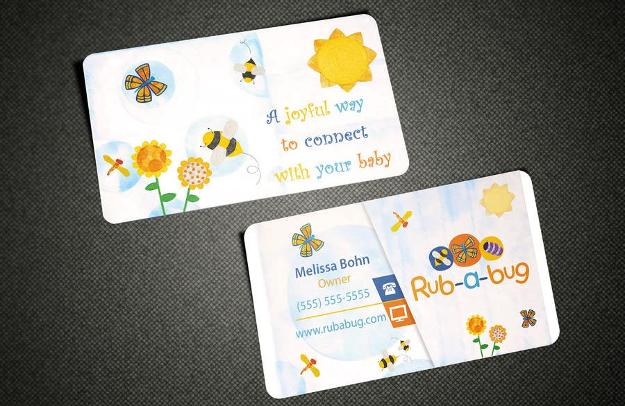 Contest Entry #                                        2                                      for                                         Design some Business Cards for Rub-a-Bug