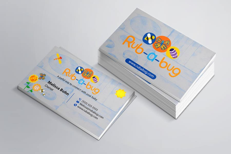 Contest Entry #                                        9                                      for                                         Design some Business Cards for Rub-a-Bug