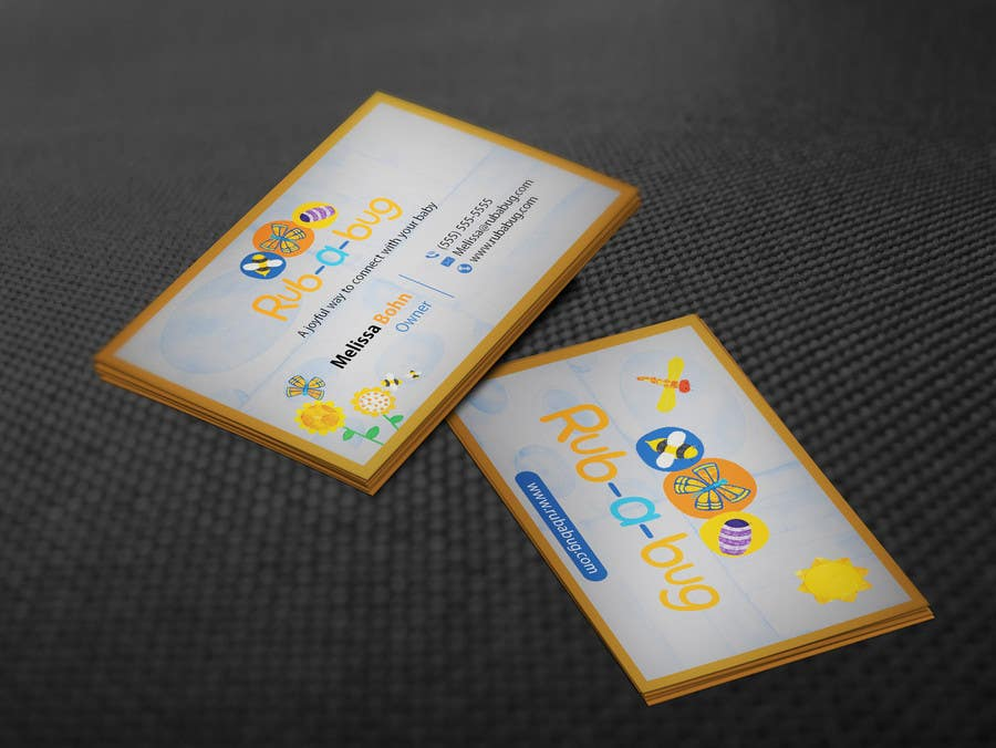Contest Entry #                                        10                                      for                                         Design some Business Cards for Rub-a-Bug