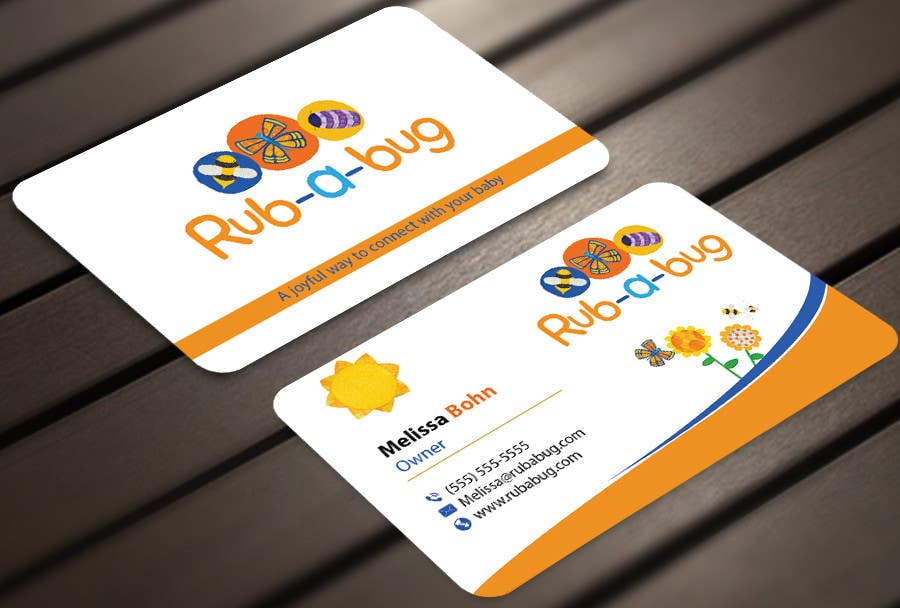 Contest Entry #                                        21                                      for                                         Design some Business Cards for Rub-a-Bug