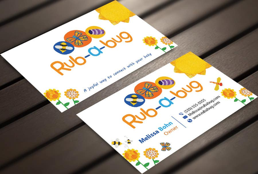 Konkurrenceindlæg #                                        30                                      for                                         Design some Business Cards for Rub-a-Bug