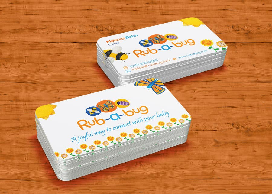 Contest Entry #                                        43                                      for                                         Design some Business Cards for Rub-a-Bug
