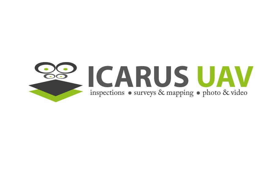 Konkurrenceindlæg #                                        13                                      for                                         Design a Logo for ICARUS UAV.COM