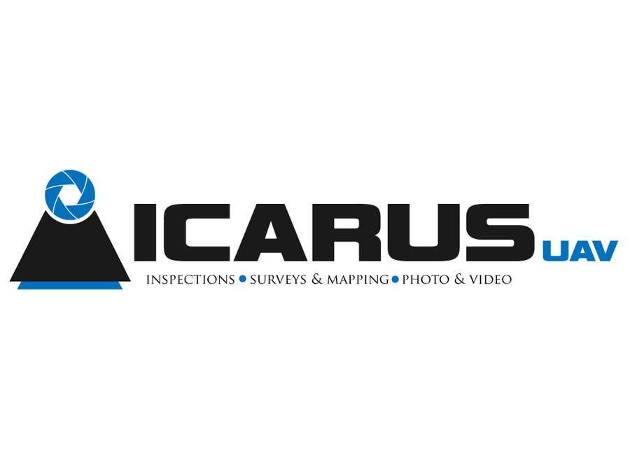 Konkurrenceindlæg #                                        23                                      for                                         Design a Logo for ICARUS UAV.COM