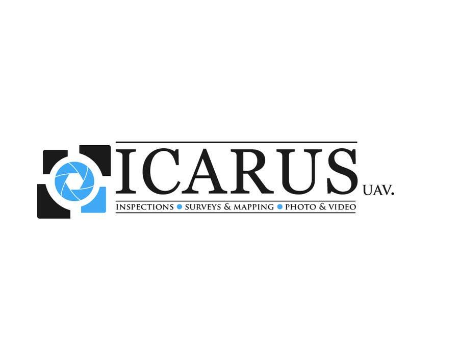 Konkurrenceindlæg #                                        24                                      for                                         Design a Logo for ICARUS UAV.COM