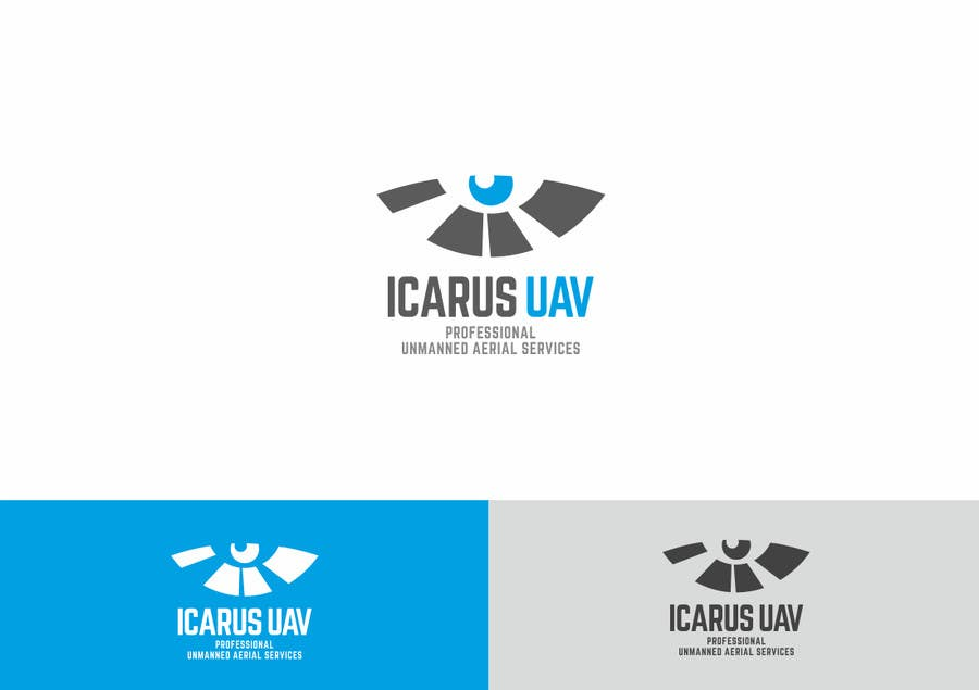 Konkurrenceindlæg #                                        15                                      for                                         Design a Logo for ICARUS UAV.COM