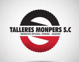#44 for Diseñar un logotipo para una empresa de venta y reparación de motocicletas af santyivasil