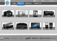 Bài tham dự #12 về Graphic Design cho cuộc thi Design a Website Mockup