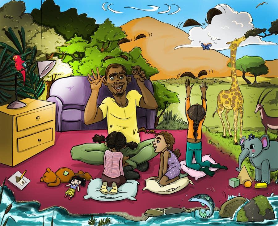 Konkurrenceindlæg #                                        11                                      for                                         Illustrate a Children's Book
