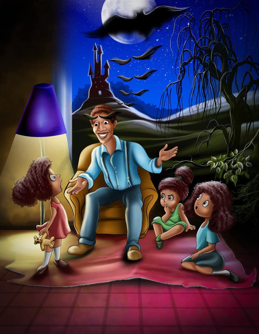Konkurrenceindlæg #                                        7                                      for                                         Illustrate a Children's Book