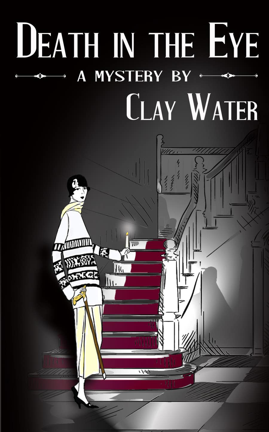 Proposition n°7 du concours Ebook cover for old-fashioned mystery novel