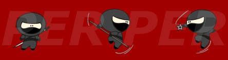 Bài tham dự cuộc thi #25 cho Design a logo / mascot character: adorable ninja!