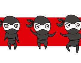 #3 para Design a logo / mascot character: adorable ninja! por Vancliff