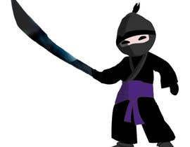 #13 para Design a logo / mascot character: adorable ninja! por abinandhanan