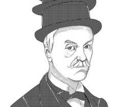 #12 cho Create a Portrait Drawing of a late 19th Century Man wearing Multiple Bowler Hats bởi irvsat