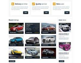nº 9 pour Create Homepage and search Result page for my Ride Sharing Booking Engine par Decomex