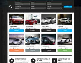nº 4 pour Create Homepage and search Result page for my Ride Sharing Booking Engine par pan09