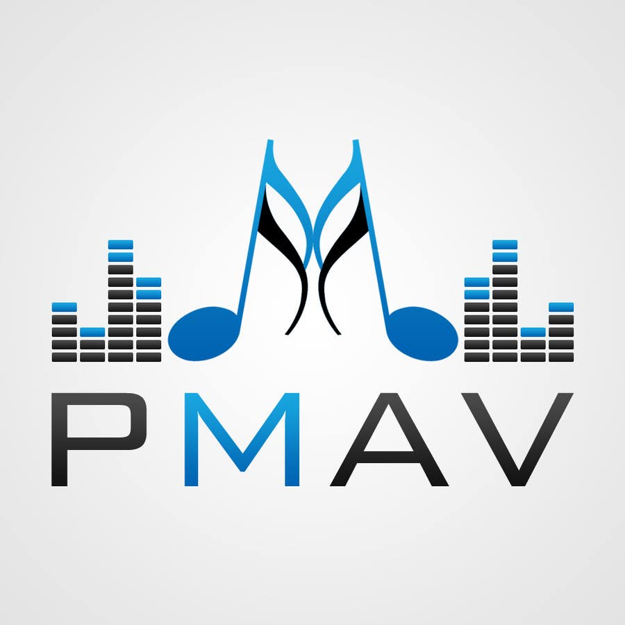 Konkurrenceindlæg #                                        21                                      for                                         Design a Logo for company named P.M. Audio Visual