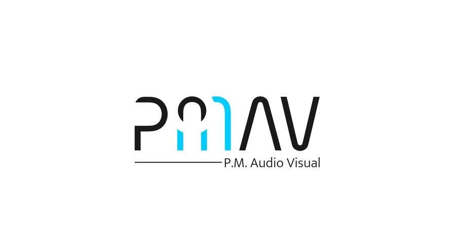 Konkurrenceindlæg #                                        45                                      for                                         Design a Logo for company named P.M. Audio Visual