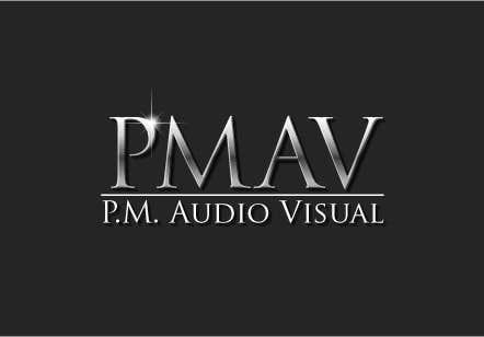 Konkurrenceindlæg #                                        8                                      for                                         Design a Logo for company named P.M. Audio Visual