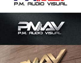 #33 for Design a Logo for company named P.M. Audio Visual by wilfridosuero