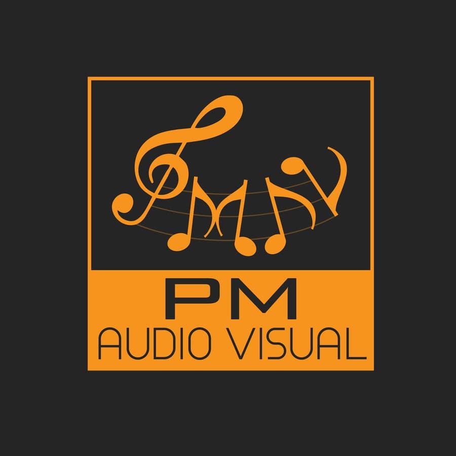Konkurrenceindlæg #                                        41                                      for                                         Design a Logo for company named P.M. Audio Visual