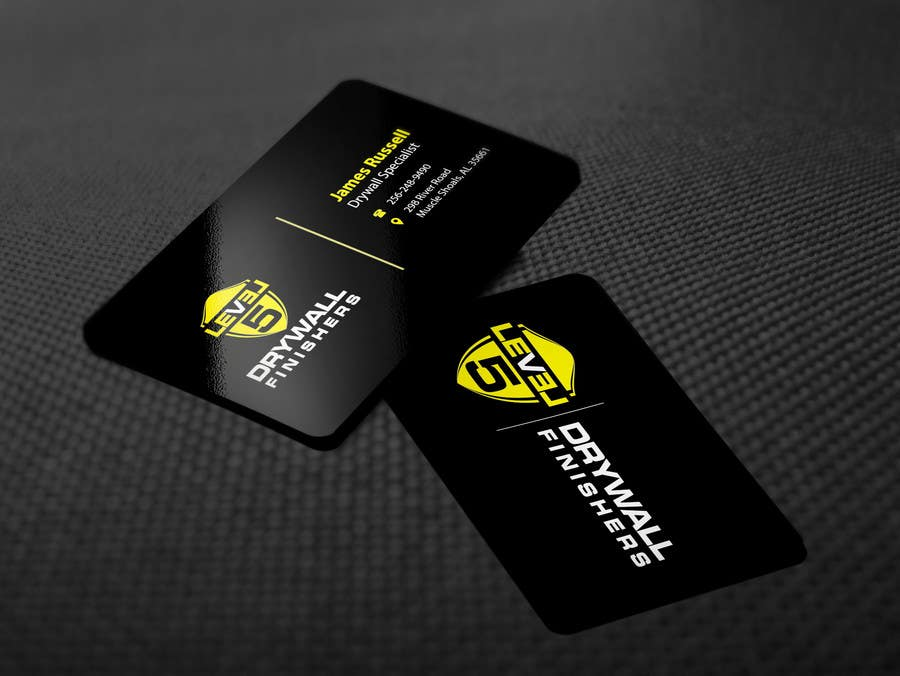 Entry 46 By Sixthsensebd For Design Some Business Cards For Drywall