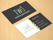 Graphic Design Konkurrenceindlæg #16 for Design some Business Cards for wedding photographers