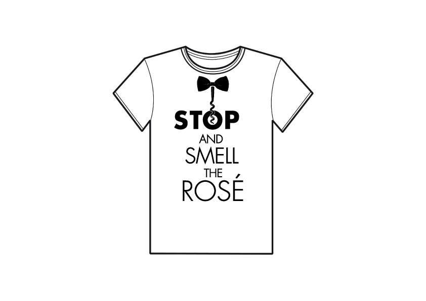 Konkurrenceindlæg #                                        25                                      for                                         Design a T-Shirt for Wine Company