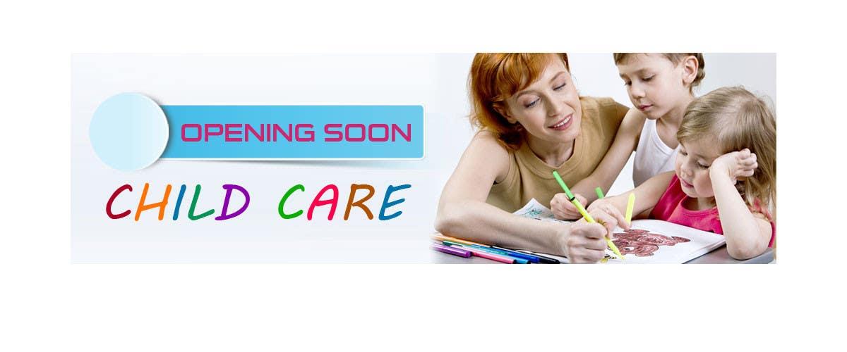 Bài tham dự cuộc thi #28 cho Design a Banner for Child Care Centre