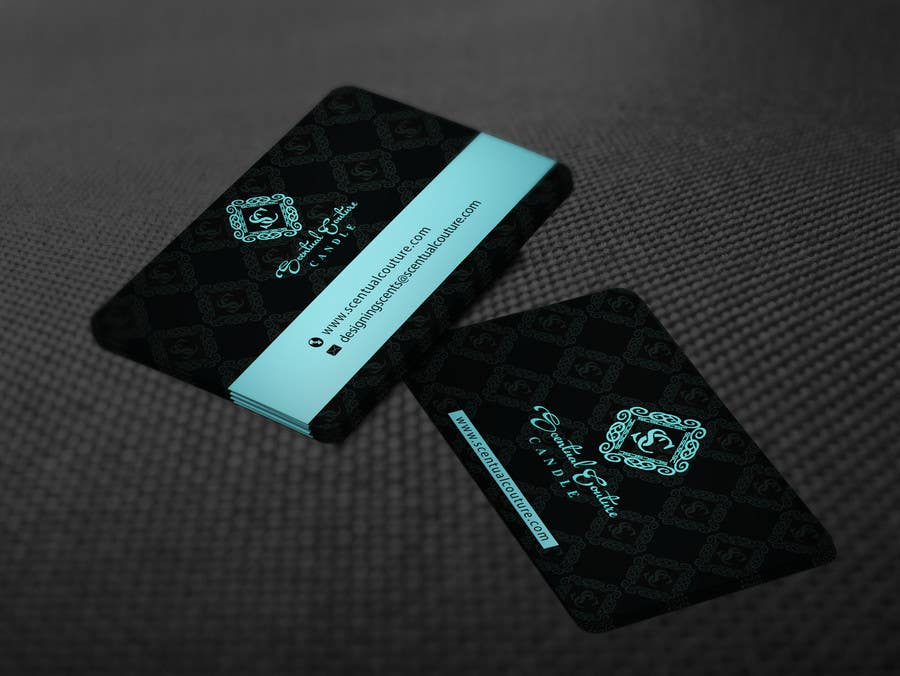 Konkurrenceindlæg #                                        66                                      for                                         Create business card for Scentual Couture Candle