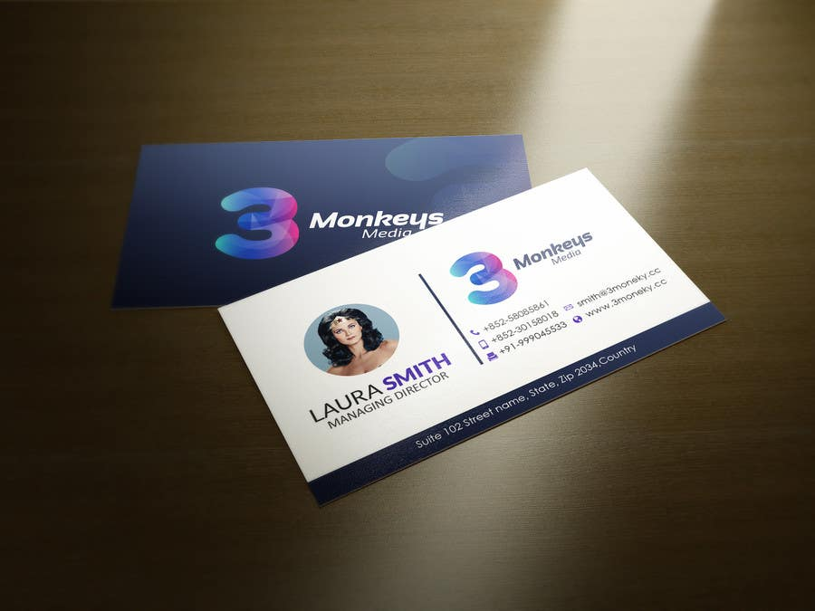 Contest Entry #                                        49                                      for                                         One Awesome Business Card Please!
