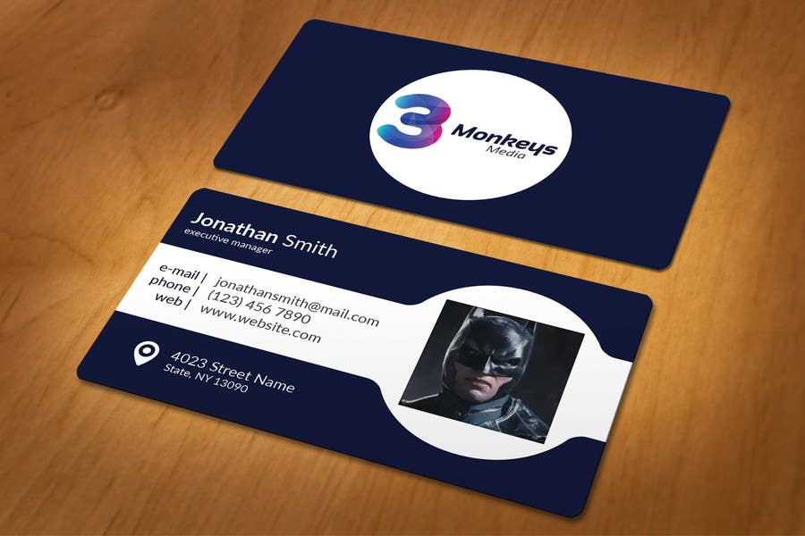 Contest Entry #                                        34                                      for                                         One Awesome Business Card Please!