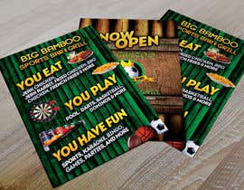 #11 para Design a Flyer for my sports bar por abudabi3