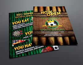 #12 cho Design a Flyer for my sports bar bởi abudabi3