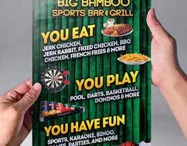 #14 cho Design a Flyer for my sports bar bởi abudabi3