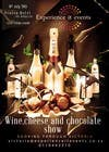 Graphic Design Konkurrenceindlæg #17 for Design a Flyer for wine,cheese and chocolate show
