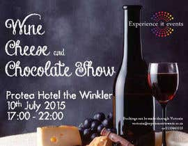 #14 for Design a Flyer for wine,cheese and chocolate show af adelaidejesus