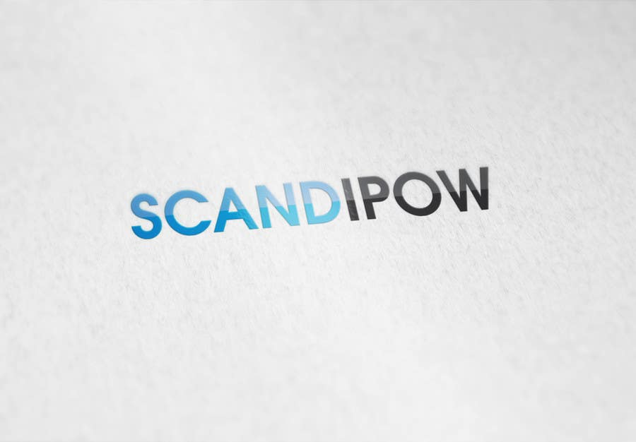 Contest Entry #                                        38                                      for                                         Simple and neat logo needed for ScandiPow (Title only so no extra graphics needed)