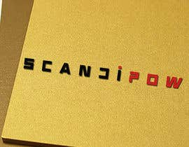 #4 cho Simple and neat logo needed for ScandiPow (Title only so no extra graphics needed) bởi birhanedangew