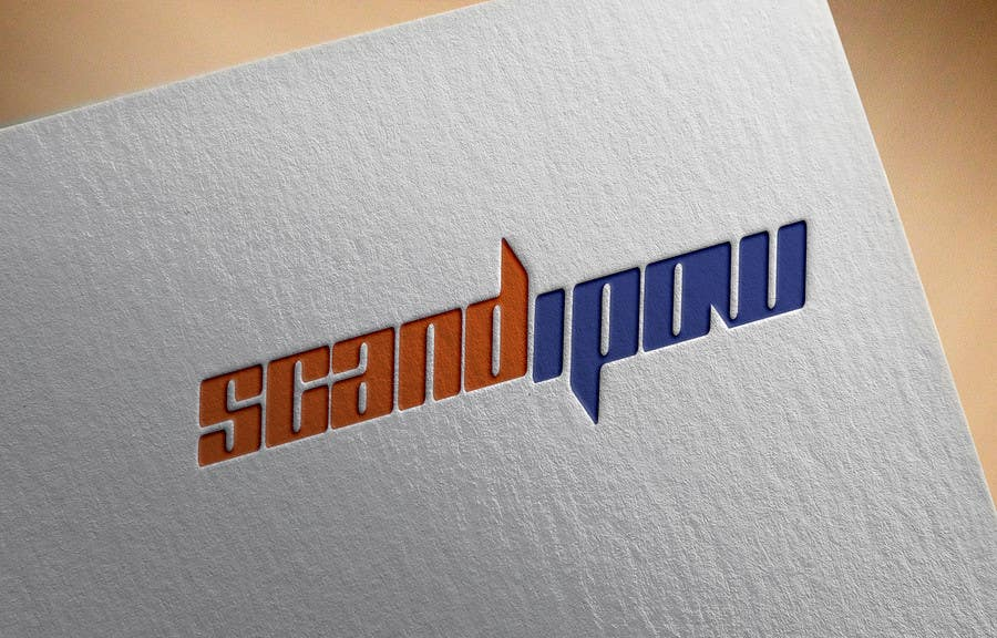 Konkurrenceindlæg #                                        36                                      for                                         Simple and neat logo needed for ScandiPow (Title only so no extra graphics needed)