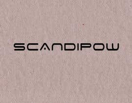 #80 para Simple and neat logo needed for ScandiPow (Title only so no extra graphics needed) por ktkayathri